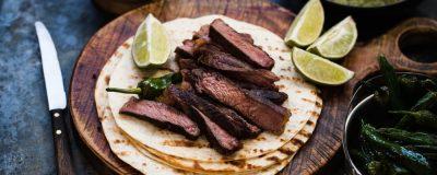 Steak and Hummus Flatbreads