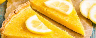 Parve Lemon Tart
